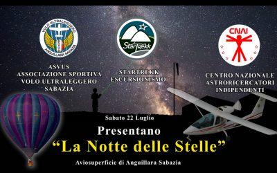 "La ""Notte delle Stelle"" 2017 – PROGRAMMA"