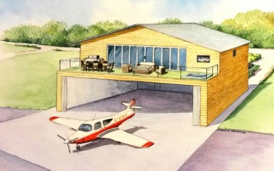 HANGAR HOMES for European Airpark